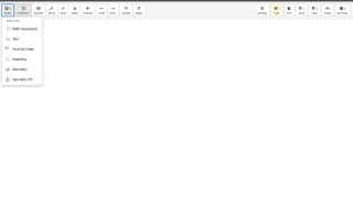 A clean, simple interface allows students to insert a variety of content.
