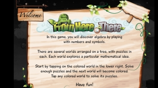 The game's title page contains some instructions.