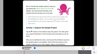 Step-by-step tutorial demonstrates how to create a project.