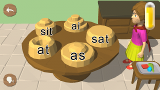 There are also activities for sight words, rhyming words, and consonant and vowel sounds.