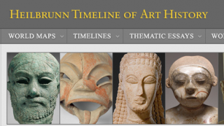 The site is an online repository for the thousands of pieces of art housed at the Metropolitan Museum of Art.