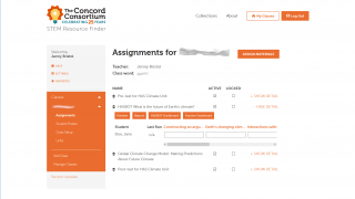 The easy-to-use teacher dashboard allows teachers to see individual student progress and responses.