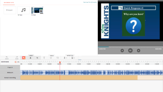 The editing tools will take a little practice, but users can crop, clip, add text, and more.