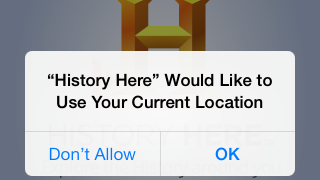 Users can opt to have the app automatically detect their location.