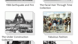 The main collections menu shows some classic images but not iconic ones.