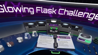 Activities gradually get more complex, as can be seen in this lab later in the game.