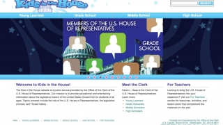 Kids in the House is a kid-friendly intro to the U.S. House of Representatives.
