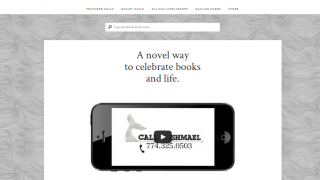 Call Me Ishmael's homepage outlines the site and its purpose.