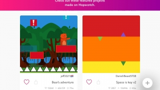 Students can upload their creations to their classroom feed or to the public Hopscotch community, where they can share, comment, and remix posted games.