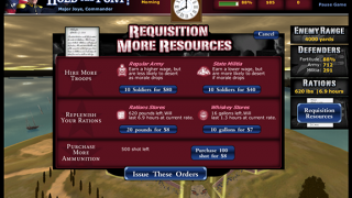 Manage resources to ensure victory.