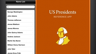 Wolfram US Presidents Reference App lets users explore basic presidential facts.