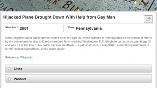 Stories explore how LGBTQ community members contributed to major world events.