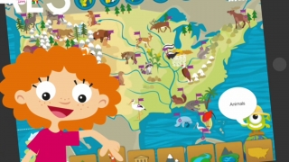 Kids U.S. Atlas lets kids explore the geography of the United States.