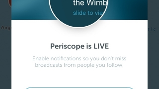 Periscope lets users broadcast video from their mobile devices.