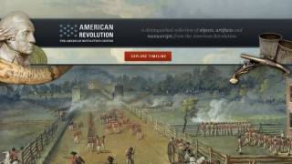 American Revolution Interactive Timeline for iPad lets kids explore objects from a museum exhibit.