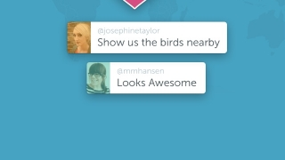 "Viewers can tap a video to give ""hearts"" as encouragement, and they can add comments in real time."