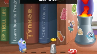 Visual puzzles invite the player to experiment.