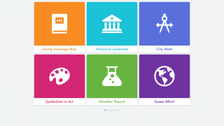 Dozens of lesson and project ideas are included in-app, with more resources available on the developer's website.