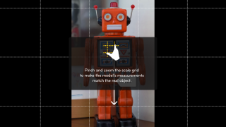 Import or take photos and set the scale with a quick draggable interface.