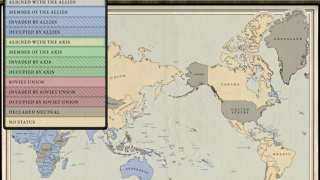 A map provides some geographical context for the historical events.