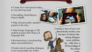 An extensive info section offers tips for teachers and other ideas for use.