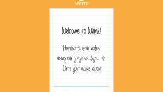 Whink is a note-taking and reading app for iPad.
