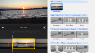 Give your trailer a pro touch with the storyboard tool.
