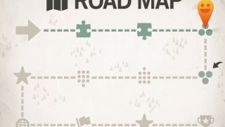 The Road Map shows player's progress.
