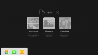 Users can organize, edit, and share photos from their iPads.