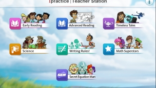 Material covers topics in math, reading, and reading for Spanish speakers.