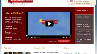 Homepage offers ways to engage and communicate