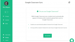 Kaizena works as a G Suite add-on. Quickly sync your Google Classroom with Kaizena.