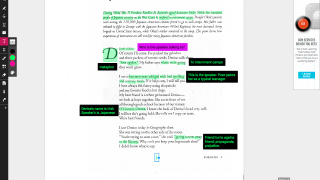 Use highlighting and annotating features to interact with texts.