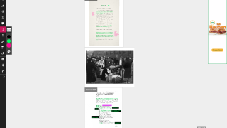 Merge multiple PDFs into one document, add other media, and share with students.