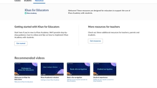 Teachers can take the Khan for Educators course or visit the help center for tips and assistance.