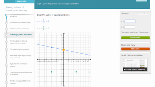 Checks for understanding move beyond traditional multiple choice; kids manipulate graphs to solve a problem.