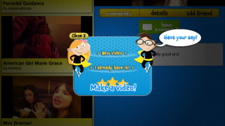 Kids can easily create and upload their video reviews right from the iPhone or iPad.