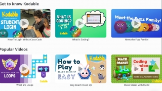 Extensive support materials help teachers integrate the app into their lessons and boost their own coding knowledge.