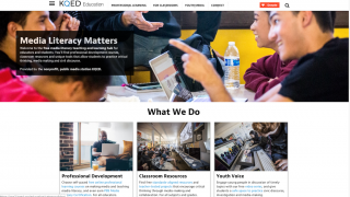 KQED has a variety of educational resources for teachers and students.