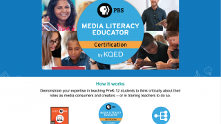 Teacher certifications in topics such as media literacy support being up to date on current trends and best practices.