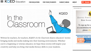 Blog-like content written by teachers offers fresh ideas and builds community.