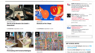 The site covers a variety of engaging topics with videos and articles.