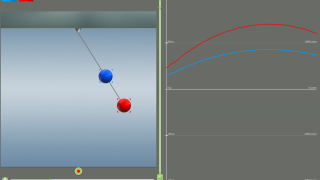 Kinematics graphs the motion of objects that you specify.