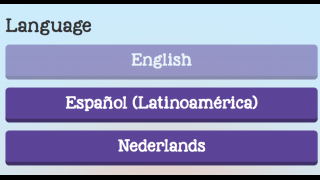 There are multiple languages available.