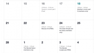 Browse the calendar of upcoming live events.