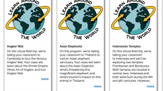Personalized, private virtual field trip packages can focus on a range of topics.