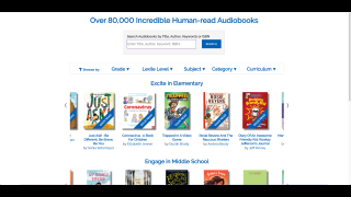 Browse books and build book lists based on Lexile, genre, or topic.