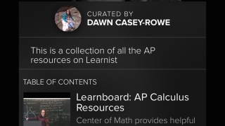 The education section of Learnist has a wide array of articles on topics from classroom management to multiplication tables.