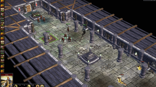 When fighting roaming monsters or enemy nations, the game zooms into a tactical view of the combat!