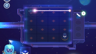 The first game level is simple and a good way for kids to get started.